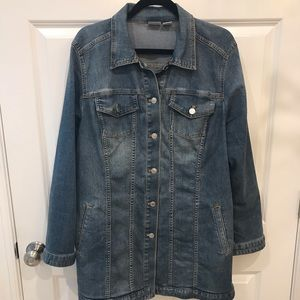 CHICO'S SIZE 3 (XL/16) JEANS JACKET